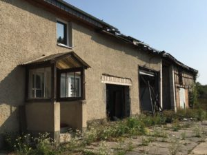Ehemalige KFZ-Werkstatt in Trollenhagen
