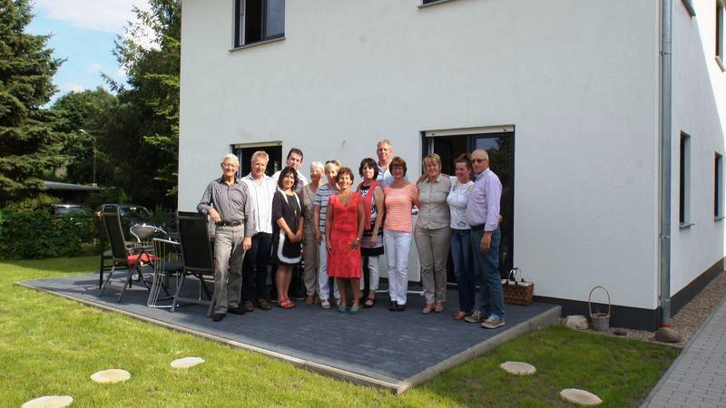 Team Püschel Immobilien am Hauptsitz in Eberswalde