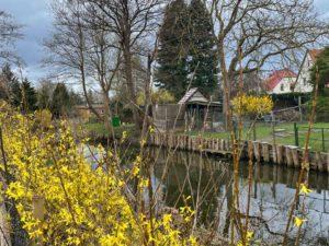 Wassergrundstück mit Wohnhaus und Tischlerei in Neustadt-Glewe